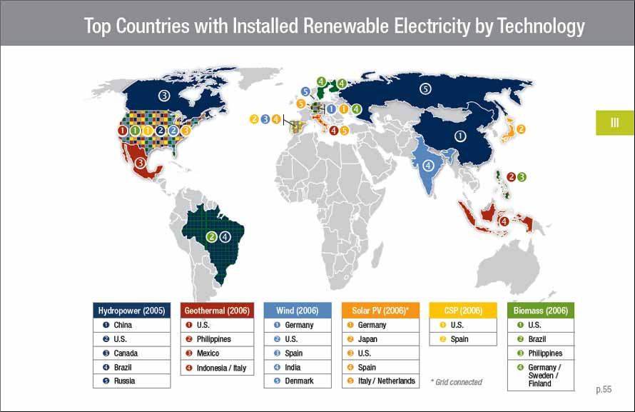 CCRES NEW ENERGY USAGE CROATIAN CENTER OF RENEWABLE ENERGY SOURCES - Solar energy consumption map us